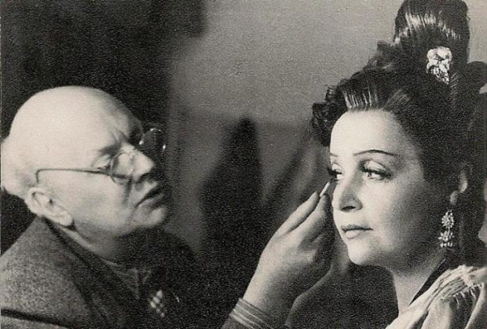 Вера Марецкая и Юрий Завадский. / Фото: www.culture.ru