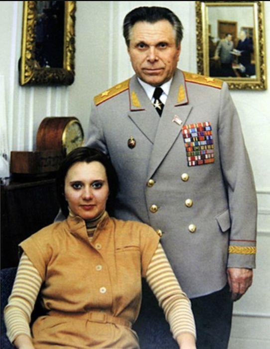 Николай Щёлоков с дочерью. / Фото: www.mk.ru
