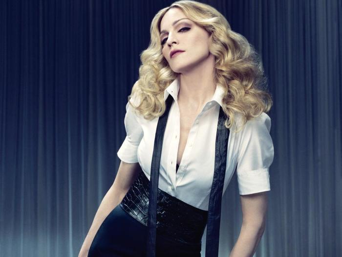 Мадонна. / Фото: www.1zoom.ru