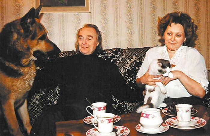 Эдуард Марцевич с женой. / Фото: www.kino-teatr.ru