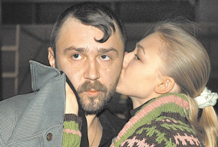 Сергей Шнуров и Оксана Акиньшина. / Фото: www.boom.ms