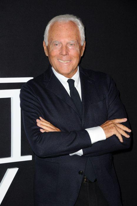 Джорджио Армани. / Фото: www.pinimg.com