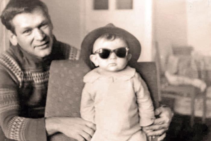 Пётр Вельяминов с сыном. / Фото: www.kioskplus.ru