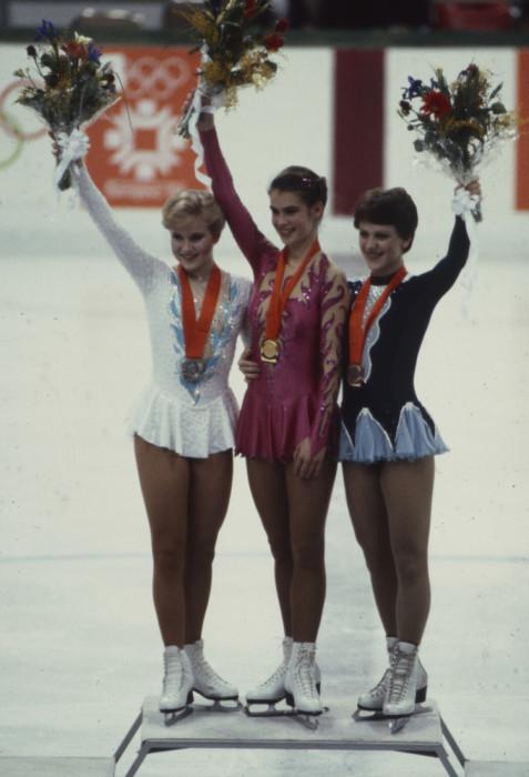 Бронзовая олимпийская медаль Киры Ивановой. 1984 год. / Фото: www.woman.ru