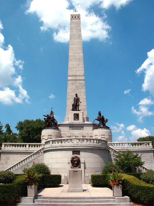 Гробница Линкольна, Спрингфилд, Иллинойс, США. / Фото: www.yandex.net