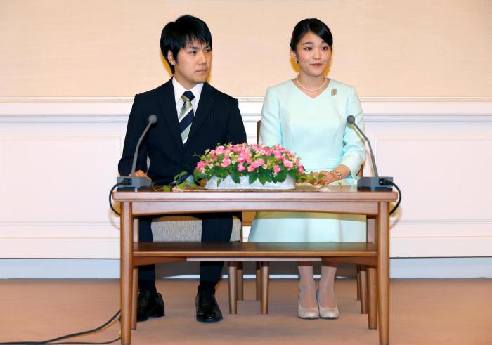 Принцесса Мако и Кеи Комуро. / Фото: www.gala.de