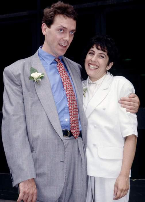 Хью Лори с женой. / Фото: www.womanadvice.ru