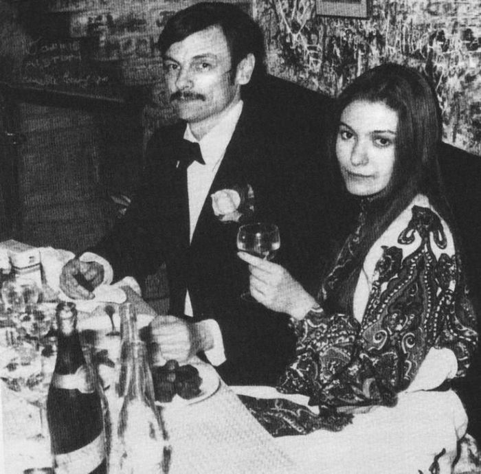Наталья Бондарчук и Андрей Тарковский. / Фото: www.pinimg.com