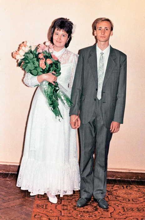 Татьяна и Евгений Устиновы в день свадьбы. / Фото: www.sb.by