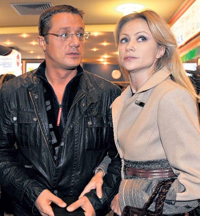 Мария Миронова и Алексей Макаров. / Фото: www.woman.ru