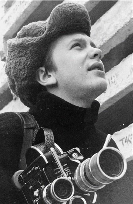 Сергей Соловьёв в молодости. / Фото: www.bg.ru