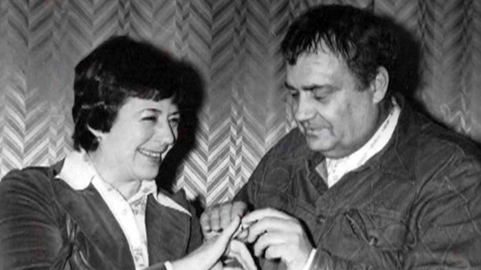 Эльдар Рязанов и Нина Скуйбина. / Фото: www.1tv.ru