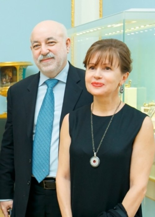Виктор Вексельберг и Марина Добрынина. / Фото: www.sobaka.ru