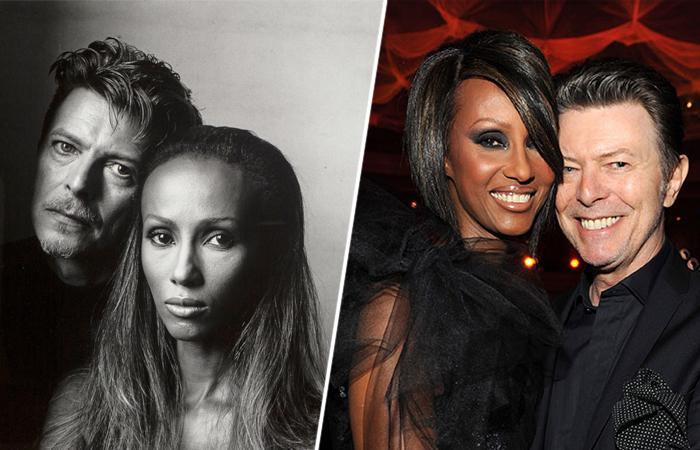 Дэвид Боуи и Иман: Как чувства к темнокожей модели превратили трайсексуала в