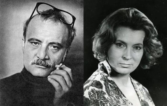 Любовь Соколова и Георгий Данелия. / Фото: www.pinimg.com