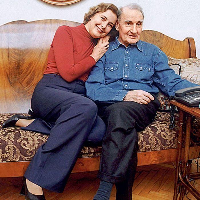 Валентин Ежов и Наталья Готовцева. / Фото: www.7days.ru