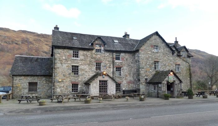 Гостиница «Drovers Inn», Аргайл-энд-Бьют, Шотландия. / Фото: www.feedbox.com