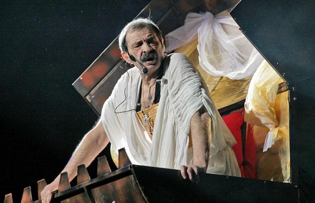 Илья Олейников в мюзикле «Пророк». / Фото: www.russianlook.com