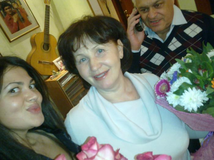 Борис Сандуленко и Валентина Курдюкова с дочерью. / Фото: www.mycdn.me