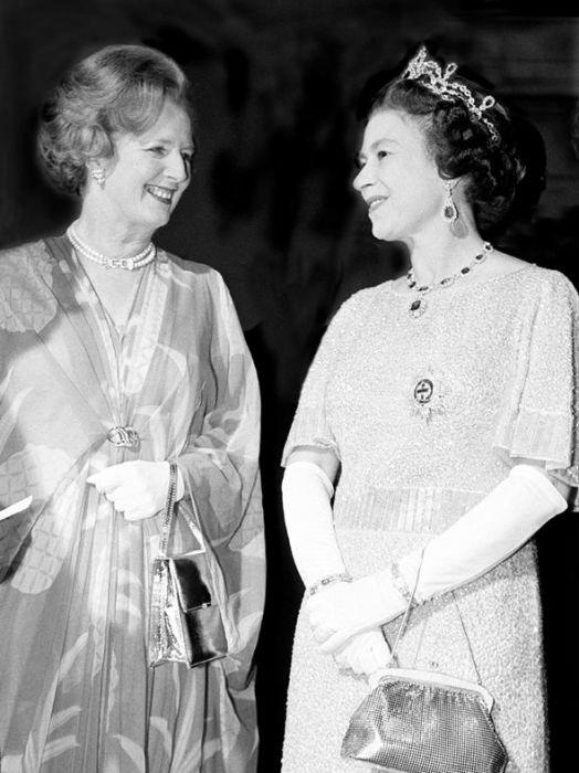Маргарет Тэтчер и Королева в 1979 году. / Фото: www.express.co.uk