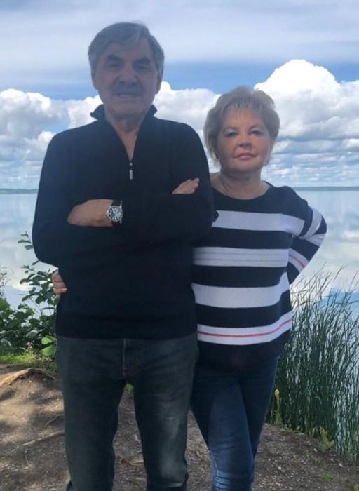 Александр Панкратов-Чёрный и Юлия Монахова. / Фото: www.instagram.com/pankratovcherny_official