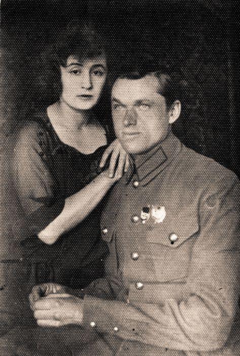 Константин Рокоссовский и Юлия Бармина. / Фото: www.cont.ws
