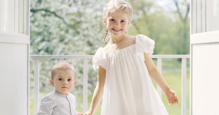 Принцесса Эстель и принц Оскар, Швеция. / Фото: www.blogspot.com