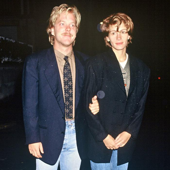 Джулия Робертс и Кифер Сазерленд. / Фото: www.plurielles.fr