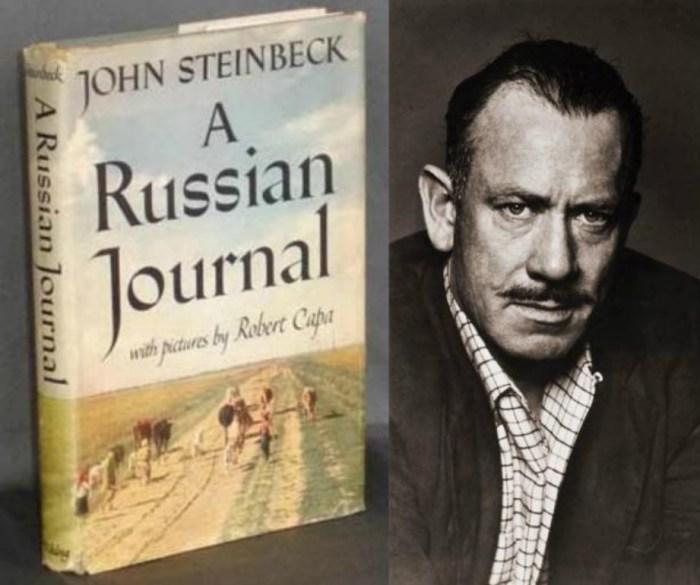 Джон Стейнбек и его «Русский дневник». / Фото: www.wclub.ru