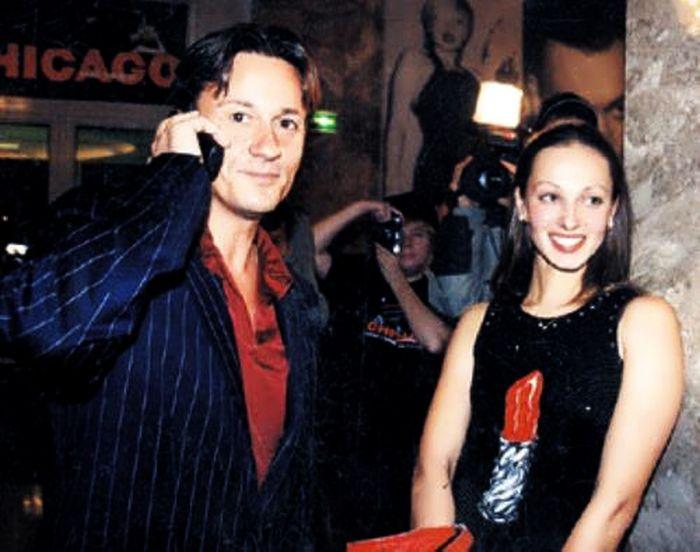 Людмила Колесникова и Олег Меньшиков. / Фото: www.beautifulrus.com