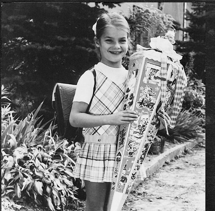 Катарина Витт в детстве. / Фото: www.welt.de