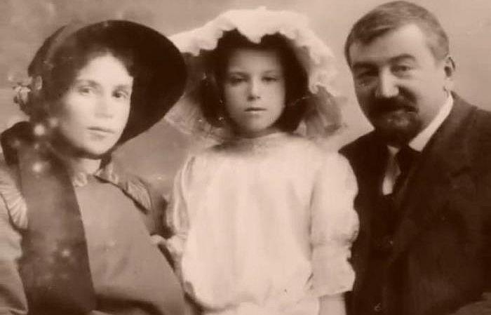 Александр Куприн с женой и дочерью. / Фото: www.liveinternet.ru