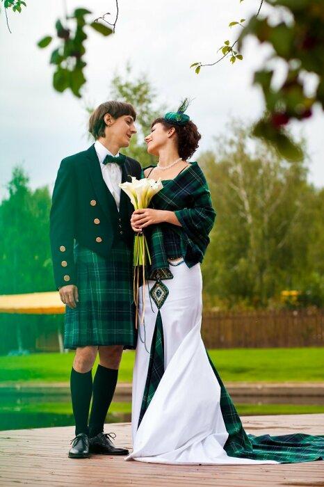 Ирландские свадьбы отличаются особым колоритом. / Фото: www.neskychno.com