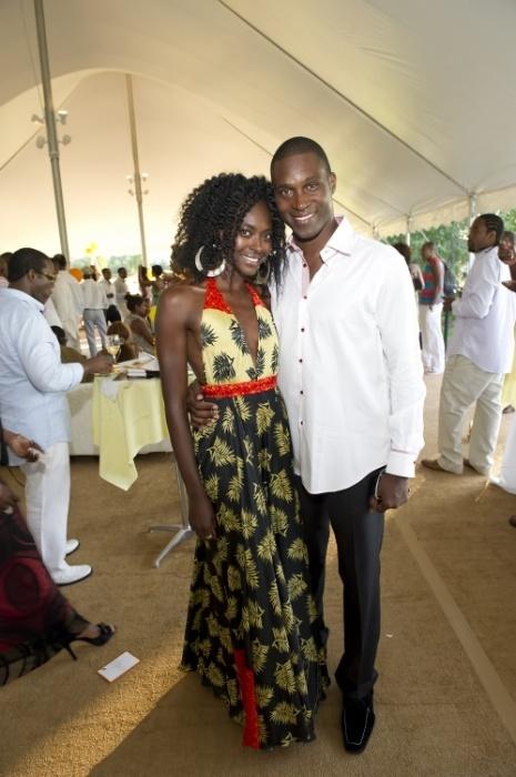 Принцесса Нигерии Кейша Омилана с супругом. / Фото: www.pinimg.com