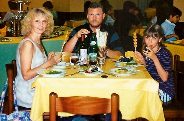 Елизавета Соломина с родителями. / Фото: www.7days.ru
