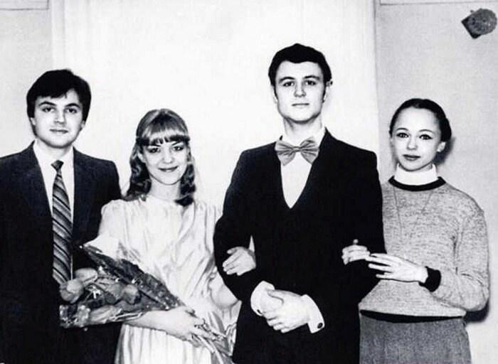 Ирина Селезнева и Максим Леонидов в день свадьбы. / Фото: www.nu-super.ru