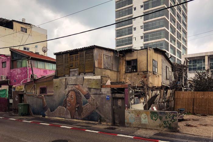 Трущобы в Тель-Авиве. / Фото: www.ilyabirman.ru