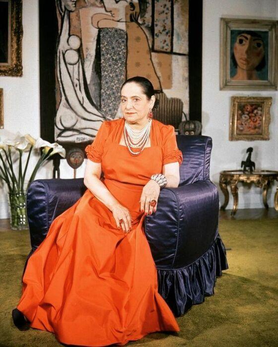 Элена Рубинштейн. / Фото: www.pinimg.com