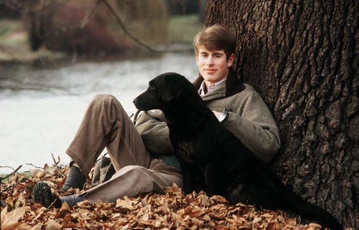 Принц Эдвард. / Фото: www.gqmagazine.fr