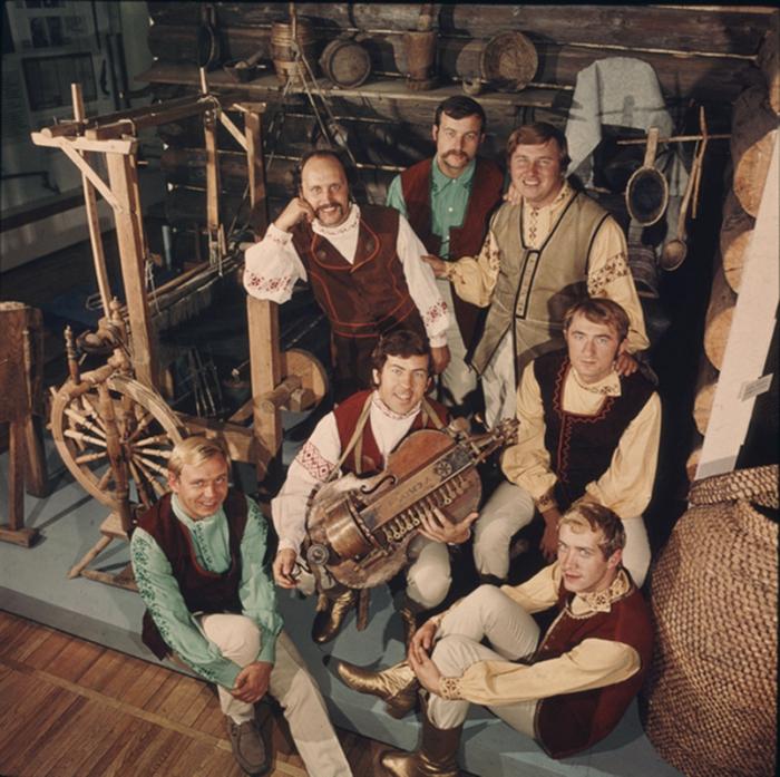 «Песняры», 1970-е годы. / Фото: www.pesnyary.com