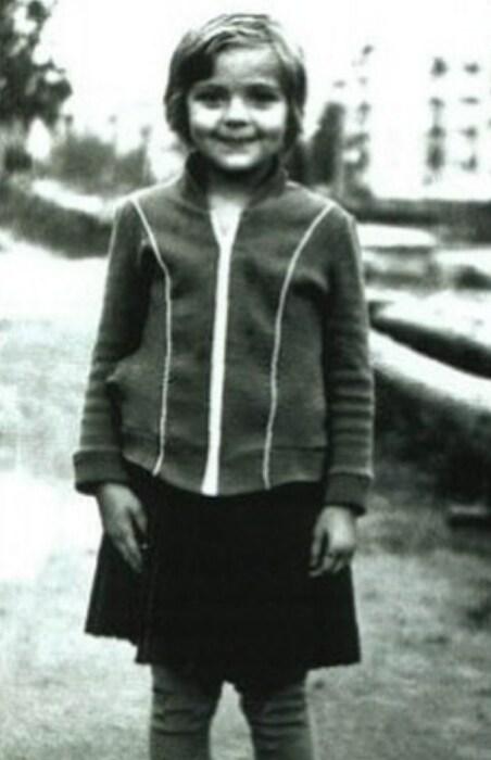 Ирина Пегова в детстве. / Фото: www.выкса.рф