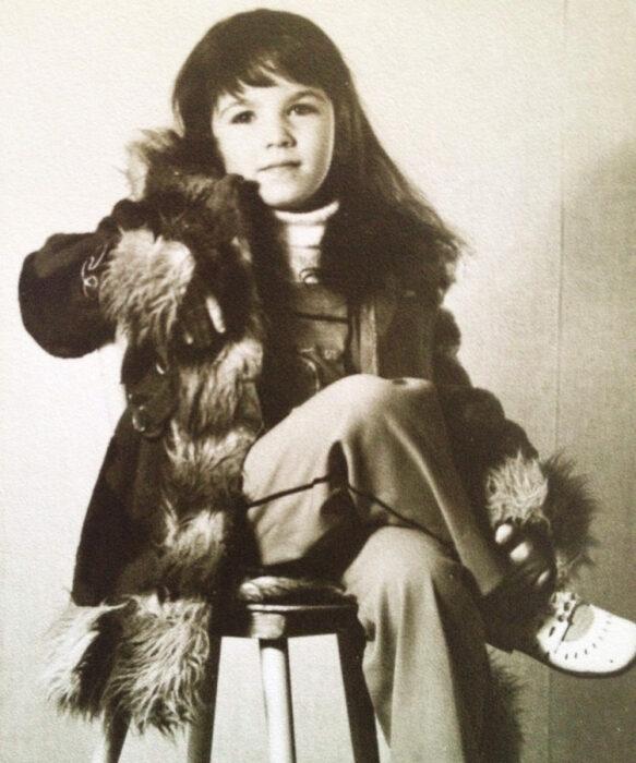 Алёна Хмельницкая в детстве. / Фото: www.glamour.ru