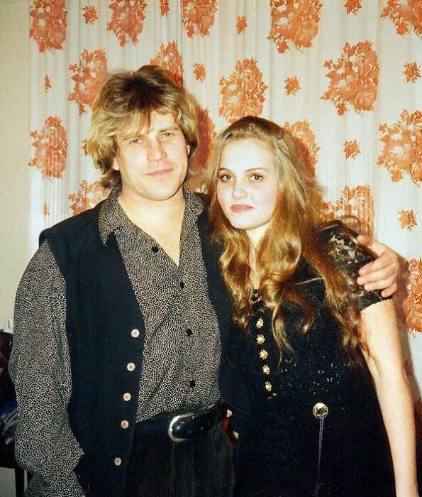 Алексей Глызин с первой женой. / Фото: www.privl.ru