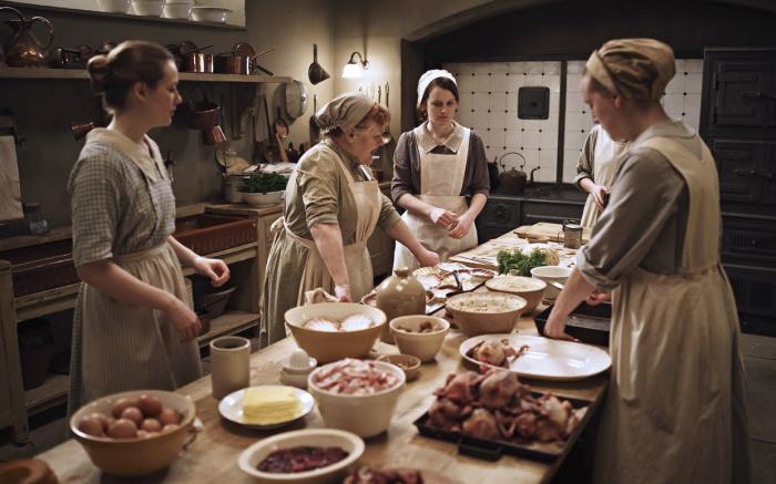 Кадр из сериала «Аббатство Даунтон». / Фото: www.styleinsider.com.ua