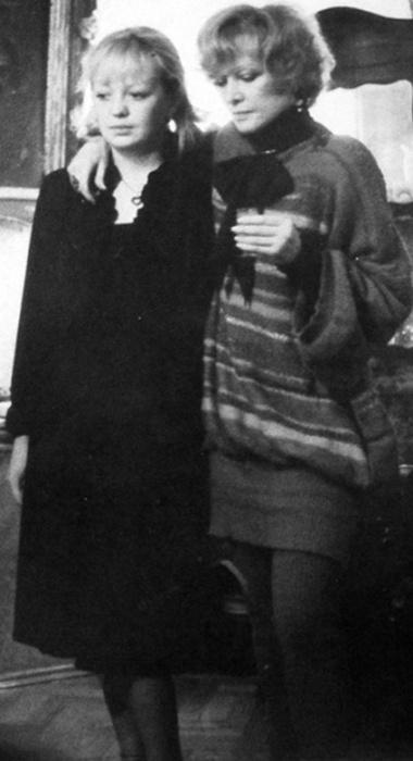 Людмила Гурченко с дочерью.  / Фото: www.bulvar.com.ua