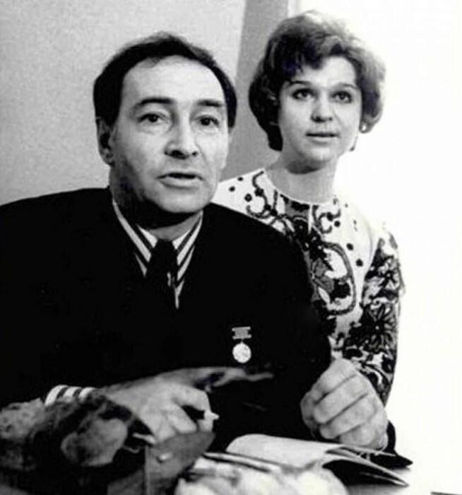 Вячеслав и Тамара Тихоновы. / Фото: www.yandex.net