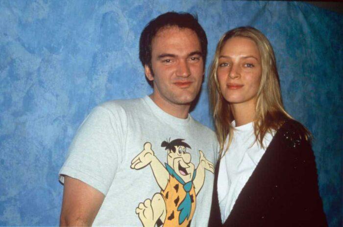 Квентин Тарантино и Ума Турман. / Фото: www.consequenceofsound.net