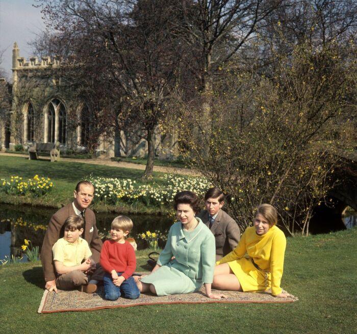 Королевская семья. / Фото: www.fotorelax.ru