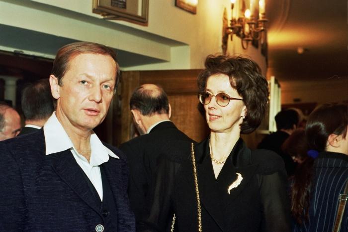 Михаил и Велта Задорновы. / Фото: www.tele.ru