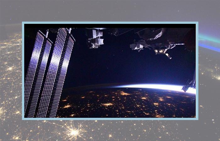 Фото космонавта Роскосмоса Ивана Вагнера.